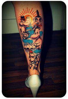 Moomin tattoo