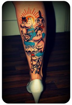 Dislike the style of this tattoo, but, damn!!!!!