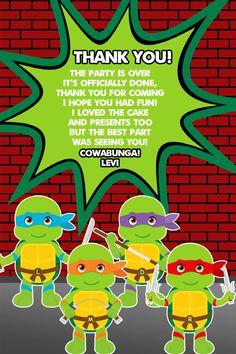 TMNT Teenage Mutant Ninja Turtles Party TMNT Birthday | Etsy My Son Birthday, Ninja Turtle Birthday, Ninja Turtle Party, Ninja Turtles, 1st Birthday Parties, Birthday Cards, Mutant Ninja, Teenage Mutant, Ninja Turtle Invitations