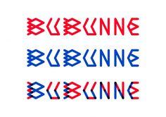 Fanette Mellier, création typographie pour le film Bubunne, 2014