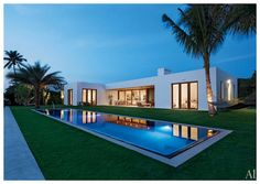 modern, contemporary home