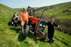 No terrain is too tough for a #TAFE #tractor.  Caption this picture NOW! tafe.com | tafecafe.com