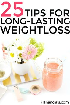 Check out this list of 25 tips for long-lasting weight loss. This is such a helpful list for anyone on a weight loss journey or simply anyone who is aspiring to live a healthy lifestyle.