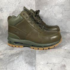 b5dfa0b5d6 Nike Shoes | Nike Air Max Goadome Acg Boots | Color: Green | Size: