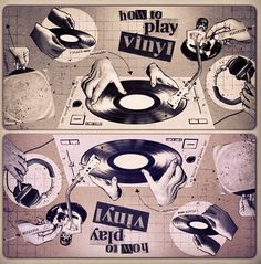 • Vinyl is the Answer • ⋅ How To Play Vinyl ⋅ Vinyl Music, Lp Vinyl, Vinyl Records, Band Photos, Music Images, Cd Cover, Alter, Techno, Dj