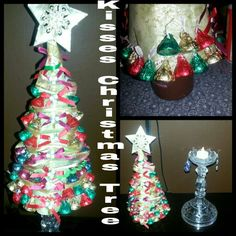 Hersheys kiss christmas tree and it glows