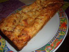 COMO APROVECHAR EL PAN DURO: PUDIN SALADO (de jamón serrano, queso y pasas)