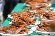 Chesapeake blue crab feast! Just add beer and friends.