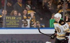 Inappropriate language ... but fans will do anything to garner attention