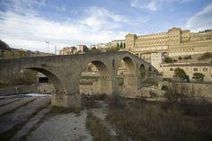 Barcelona Manresa, Pont Vell y Cova de Sant Ignasi-