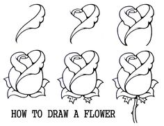 1000+ ideas about Rose Drawings on Pinterest | Rose drawings ...