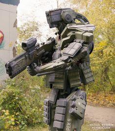 ArtStation - Amak Robot Soldier, Michael Weisheim Beresin