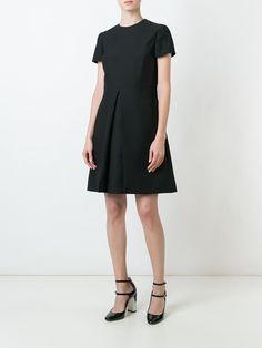 Купить Valentino платье с воротником с заклепками.