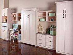 Wallbeds!  Make more space in small bedrooms, with a wallbed! Kid and Adult styles!  ClassyClosets.com  OrganizingUtah.com
