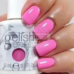 Gelish Look at You Pink-achu! - Chickettes.com
