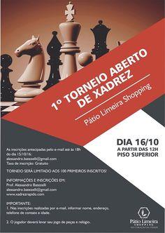 1.o Torneio Aberto de Xadrez do Pátio Limeira Shopping