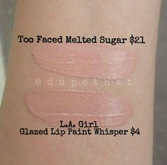 Too Faced Melted Sugar Dupe!