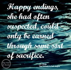 Happy ending quote from The Thickety by J.A. White