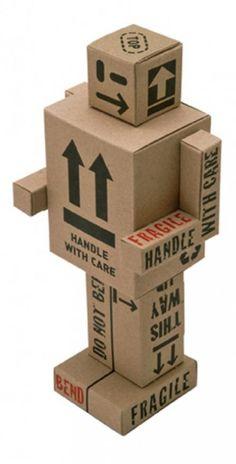 MODABOTS - Build it yourself Paper Robots