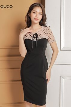 Elegant Dresses For Women, Beautiful Dresses, Casual Dresses, Curvy Girl Fashion, Look Fashion, Womens Fashion, Modest Fashion Hijab, Fashion Dresses, Knitwear Fashion
