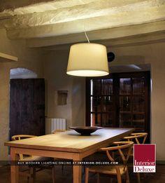 Warm Pendant Light - Vibia  Shop Online http://www.interior-deluxe.com/warm-4925-pendant-light-p14804.html  #ModernLighting #InteriorDesign #Vibia