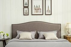 An average padded headboard can cost over $300 dollars. Why not save money and get creative at the same time and DIY. Making a padded headboard yourself allows you to choose the color, pattern, size, and overall style. Here are some price references and some ideas for different headboard styles and designs of currently top … … Continue reading →