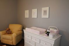 Pink and Gray Nursery - Baby's Dream Legendary Collection