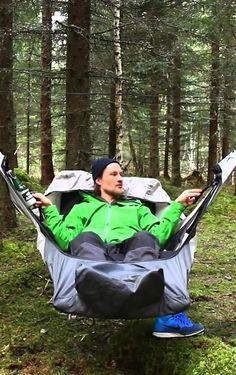 An amazing new hammock