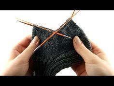How to Knit Socks for Men #4 Gusset