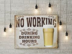 No working during drinking hours canvas ready to hang on the wall picture beautiful home decor wall art valentines day gift canvas by funkytshirtsfactory on Etsy Canvas Home, Home Decor Wall Art, Picture Wall, Valentine Day Gifts, Beautiful Homes, Drinking, Handmade Gifts, Pictures, Etsy