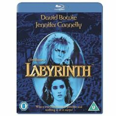 Labyrinth [Blu-ray] [2009] [Region Free] (Get Two Selected Blu-ray Titles for £10*) David Bowie (Actor), Jennifer Connelly (Actor), Jim Henson (Director)   Rated: Universal, suitable for all   Format: Blu-ray