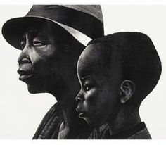 Elizabeth Catlett, 'Two Generations,' 1979, Dolan/Maxwell