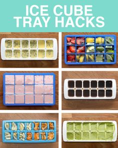Ice Cube Tray Hacks To Save Food