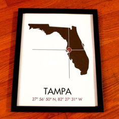 Tampa coordinates! Home!