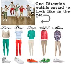 """""""One Direction outfit for girls"""" by candysmiles778 ❤ liked on Polyvore"""
