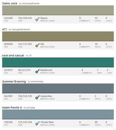 modern industrial colour palette - Google Search