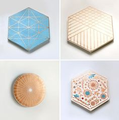 Super Pretty Tile Trivets by Xenia Taler (You Can Hang Them, Too!) House Warming, Home Gifts, Accent Decor, Product Packaging, Textures Patterns, Dinnerware, Home Accessories, Pottery Ideas, Art Techniques