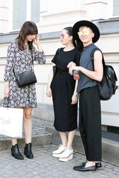 Street style at Berlin Fashion Week                              …