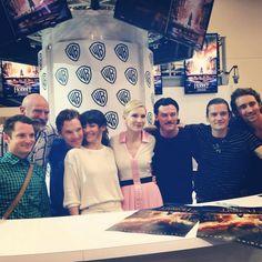 Hobbit cast members at SDCC (Elijah Wood, Graham McTavish, Benedict Cumberbatch, Evangeline Lilly, Cate Blanchett, Luke Evans, Orlando Bloom, Lee Pace)