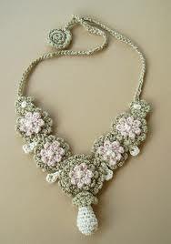 crochet necklace - Pesquisa Google
