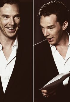 Benedict is adorable. Ain't no doubt about it.