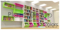 Stationary Shop, Stationery Store, Gift Store, Toy Store, Bookstore Design, Modern Books, Shop Layout, Shop Interiors, Bookcase