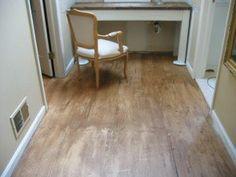 Anthropologie Inspired Floor Tutorial ~ Interior Salvage