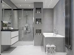 bathroom renovations is unquestionably important for your home. Whether you pick the bathroom renovations or diy bathroom remodel ideas, you will create the best minor bathroom remodel for your own life. Bathroom Red, Bathroom Toilets, Bathroom Ideas, Brick Bathroom, Bathroom Organization, Luxury Master Bathrooms, Amazing Bathrooms, Small Grey Bathrooms, Modern Bathroom Design