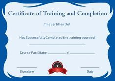 Free Training Completion Certificate Templates Free Training Completion Certificate Templates . Free Training Completion Certificate Templates . Project Management Heet Excel or Template Custom Calendar Certificate Of Completion Template, Free Certificate Templates, Certificate Format, Training Certificate, Certificate Of Achievement, Templates Printable Free, Pamphlet Template, Custom Calendar