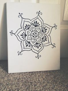 Hand painted Lotus flower