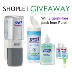 Ending #summer with some fun plans? Make every moment germ-free with #Purell! Enter to #win a essential pack now. http://blog.shoplet.com/giveaways/win-a-germ-free-pack-from-purell/