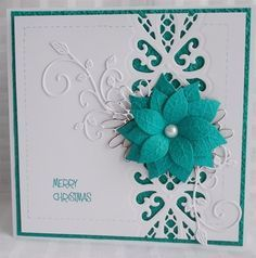 snoflake christmas challenge 2014 weeks 19 - 23 | docrafts.com Sue Wilson Regal striplet