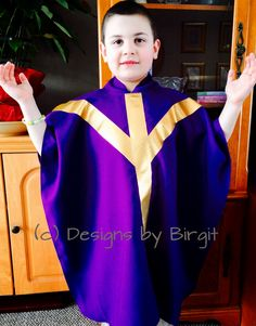 Foster Vocations - Make a Chasuble For Your Little Priest...materials and instructions