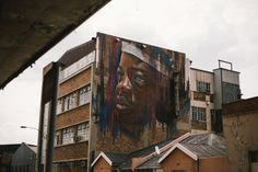 South Africa's Coolest Street Art: Jeppestown – Johannesburg Street Culture, Creative Industries, South Africa, Street Art, Scene, Contemporary, Cool Stuff, Artwork, Painting
